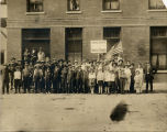 Madson's Eat Shop Shock Troops, by Powers Hotel, Fargo, N.D.