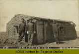 North Dakota sod house, Reeder, N.D.