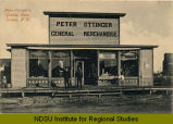 Peter Ottlinger's General Store, Oriska, N.D.
