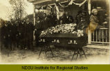 Funeral of Mrs. T. Bergan at Sharon, N.D.
