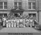 Cavalier lodge band, Ancient Order of United Workmen, 1931 convention, Fargo, N.D.