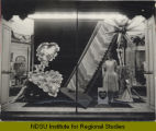 Hosiery window display, Herbst Department Store, Fargo, N.D.