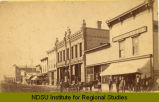 Looking south on Main Street from Caledonia Ave., Hillsboro, N.D.