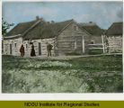 First post office in North Dakota at Pembina, North Dakota