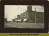 N.P. Ave. and Broadway, looking south, Fargo, N.D.