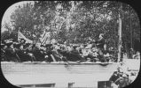 Theodore Roosevelt speaking at Fargo College Carnegie Library cornerstone laying ceremony, Fargo,...