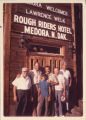 Lawrence Welk and group in Medora, N.D.