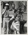 King Donovan, John Remme & Imogene Coca in Don't Drink The Water, 1970