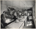 Men working in packing department, Northern School Supply, Fargo, N.D.