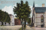 Alpha Av. Showing Post Office & Methodist Church, Grand Forks, N.D.