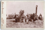 Threshing scene