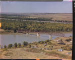 Bridge over Missouri River at Sanish, N.D.