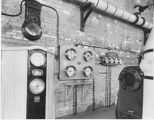 Gages with high service pump, water treatment plant,Fargo, N.D.