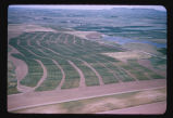 Contour farmland on Earl Rundle farm, New England, N.D.