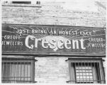 Crescent Jewelers sign