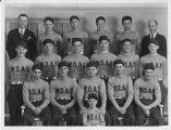 Earl C. Reineke with WDAY baseball team