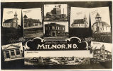 Greetings from Milnor, N.D.
