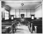 Courtroom, Steele County Courthouse, Finley, N.D.
