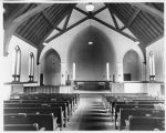 Our Savior's Lutheran Church interior, Hillsboro, N.D.
