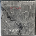 High altitude aerial photograph over the Sheyenne River and Valley City, N.D.