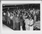 Crowd dancing at Festival Hall, NDSU, Fargo, N.D.