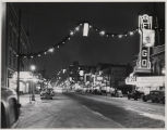 Christmas decorations on Broadway, Fargo, N.D.