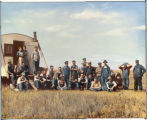 Threshing crew, J.M. Anderson outfit
