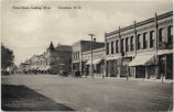Front Street, looking west. Casselton, N.D.