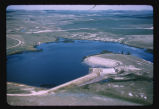 Odland Dam and reservoir, Golden Valley County, N.D.