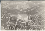 Aerial of Fargo fultration plant looking East, Fargo, N.D.