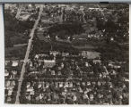 Aerial over Hawthorne Neighborhood, Fargo, N.D.