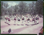 Hettinger Cowboy Band at Medora golden jubilee, June 15, 1952