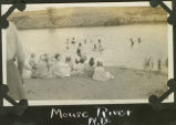 Picnic on the Souris River near Mohall, N.D.