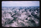Badlands buttes, N.D.