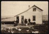 Anton and Kathrine Gorecki farm home, Wash County, N.D.