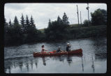Canoeing on Sheyenne River, N.D.