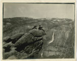 Matthew F. Steele at Yosemite National Park, 1910