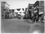 Broadway, looking south from the Great Northern tracks, American Legion convention, Fargo, N.D.
