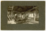 Inside of Schlanser & Ostbye's Woodworking Shop, 665 N.P. Ave., Fargo, N.D.