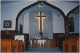 Inside of Zion Lutheran, Colgan, ND