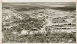 Aerial over south West Fargo, N.D. neighborhood