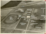 Aerial over Red River Valley Fairgrounds, West Fargo, N.D.