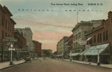 First Avenue North, looking west, Fargo, N.D.