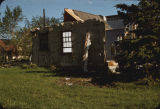 Ruins of the Thomas Gildersleeve home 1042 14th Street N., Fargo, N.D. after tornado