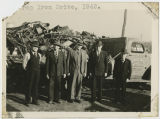 Scrap iron drive, Grafton, N.D.