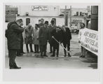 Ground breaking ceremony for the A B C Lark Theater,Fargo, N.D.