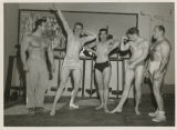 Bodybuilders at the YMCA, Fargo, N.D.