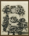 Funeral flowers for Helen and Avis Wenaas