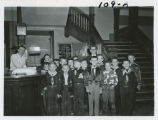 Boy Scout group at the YMCA, Fargo, N.D.