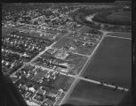 Aerial over south Fargo, N.D.